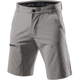 Löffler Comfort Stretch Light Trekking Shorts Herren nickel